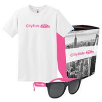 Hanes® T-Shirt And Sunglasses Combo Set With Custom Box