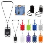 Silicone Lanyard With P...