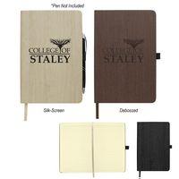 Woodgrain Look Notebook