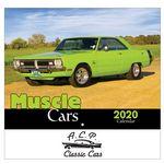 Custom 2020 Muscle Cars Wall Calendar - Stapled