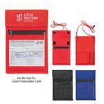 Custom Non-Woven Neck Wallet Badge Holder