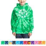 Custom Port & Company Youth Tie-Dye Pullover Hooded Sweatshirt