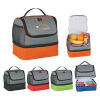 Two Compartment Lunch Pail Bag