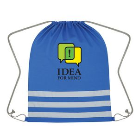 Reflective Safety Drawstring Bag