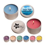 4 oz. Candle In Round Tin