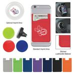 Custom Magnetic Auto Air Vent Phone Wallet