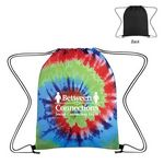 Custom Tie-Dye Drawstring Bag