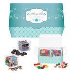 Custom Cube Shaped Candy Set