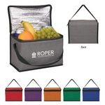 Custom Heathered Non-Woven Cooler Lunch Bag