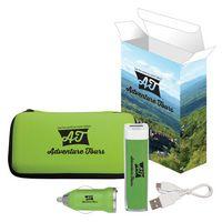 Deluxe Travel Kit With Custom Box