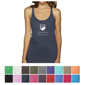 9c1718b08fbfd Next Level™ Ladies  Tri-Blend Racerback Tank - 6733 - IdeaStage Promotional  Products