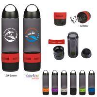 16 Oz. Tritan™ Rumble Bottle With Speaker