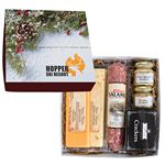 Custom Deluxe Charcuterie Gourmet Meat & Cheese Set Chairman Gift Box
