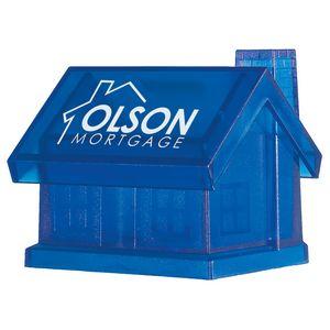 Custom Plastic House Shape Bank