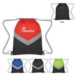 Custom Reflective Stripe Drawstring Sports Pack