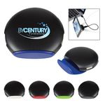 Custom 4-Port Round USB Hub With Phone Stand