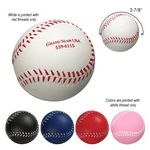 Custom Baseball Shape Stress Reliever