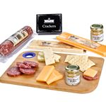 Custom Charcuterie Favorites Board With Meat & Cheese Set