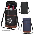 Custom Double Wine Cooler Bag
