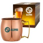 Custom 20 Oz. Moscow Mule Mug With Custom Box