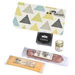 Custom Charcuterie Gourmet Meat & Cheese Sampler Set In Gift Box