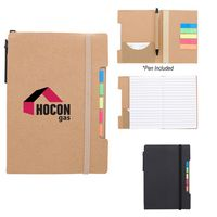 Notepad With Sticky Flags And Pen