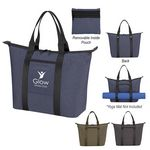 Custom Performance Fitness Tote Bag