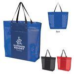 Custom Breezy Mesh Tote Bag