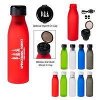 20 Oz. Tritan™ Merge Bottle With Wireless Earbuds