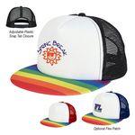 Custom Rainbow Trucker Cap