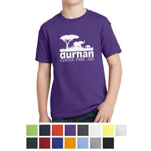 Hanes Youth EcoSmart 50/50 Cotton/Poly T-Shirt