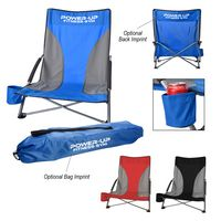 Low Profile Chair With Carrying Bag