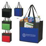 Custom Lami-Combo Non-Woven Shopper Tote Bag