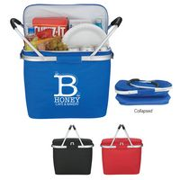 Picnic Fun Collapsible Cooler Basket