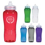 26 Oz. Wave Bottle With Sure Flow Lid