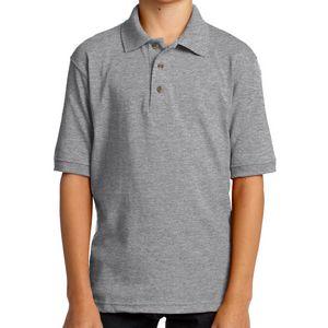 Port & Company Youth Core Blend Jersey Knit Polo