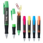 Custom 3-In-1 Executive Assistant Highlighter Pen