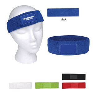 Custom Sweatband With Patch  3e9db13f2d8