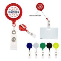 Reflector Retractable Badge Holder