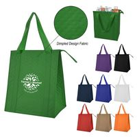 Dimples Non-Woven Cooler Tote Bag