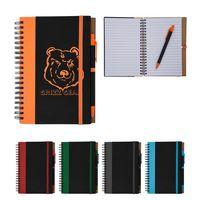 Color Underlay Spiral Notebook