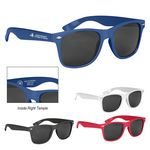 Custom Malibu Sunglasses With Antimicrobial Additive