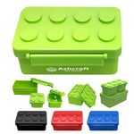 Building Blocks Stackable Lunch Containers