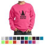 Custom Port & Company Youth Core Fleece Crewneck Sweatshirt
