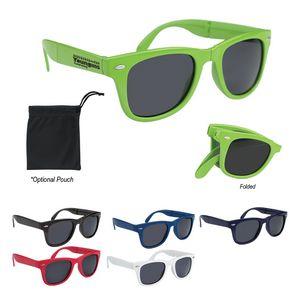 d25469b6ca7 Custom Folding Malibu Sunglasses - C6227 - Brilliant Promotional Products