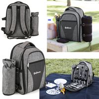 Wine Picnic Backpack for Four
