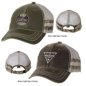 4e96563e68c Outdoor Cap Frayed Camo Stripes Cap - OC7702 - IdeaStage Promotional  Products