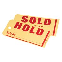 Hold / Sold Jumbo Tag