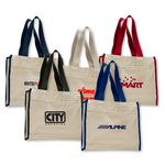 Custom Canvas Gusset Tote Bag