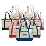 Custom Small Canvas Deluxe Tote Bag